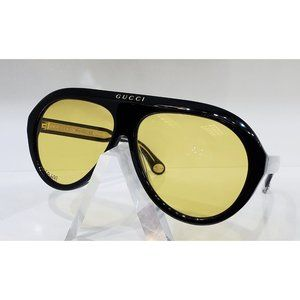 New Gucci Unisex Black Sunglasses